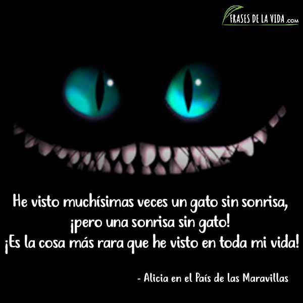 Frases del Gato de Cheshire 3