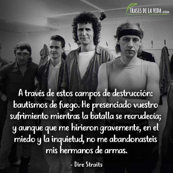 Frases de Dire Straits, Frases de Mark Knopfler, 1