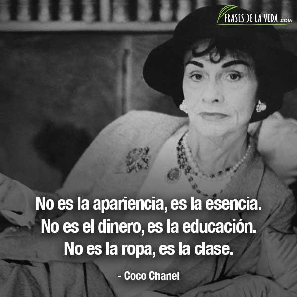 Frases de mujeres fuertes, frases de Coco Chanel