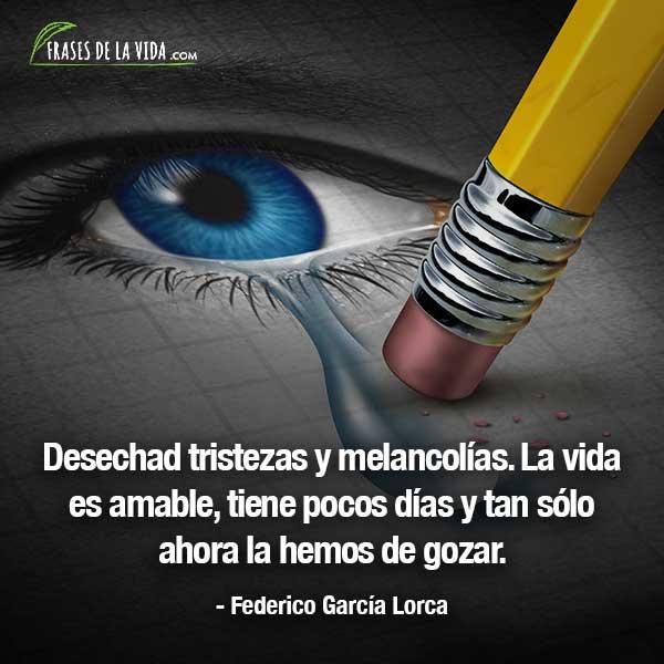 Frases de tristeza, frases de Federico García Lorca