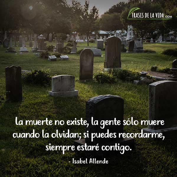 Frases sobre la muerte, frases de Isabel Allende