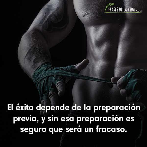Frases de Confucio, El éxito depende de la preparación previa, y sin esa preparación es seguro que será un fracaso.