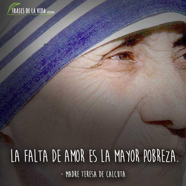 80 Frases De La Madre Teresa De Calcuta Un Mundo Mejor Imagenes
