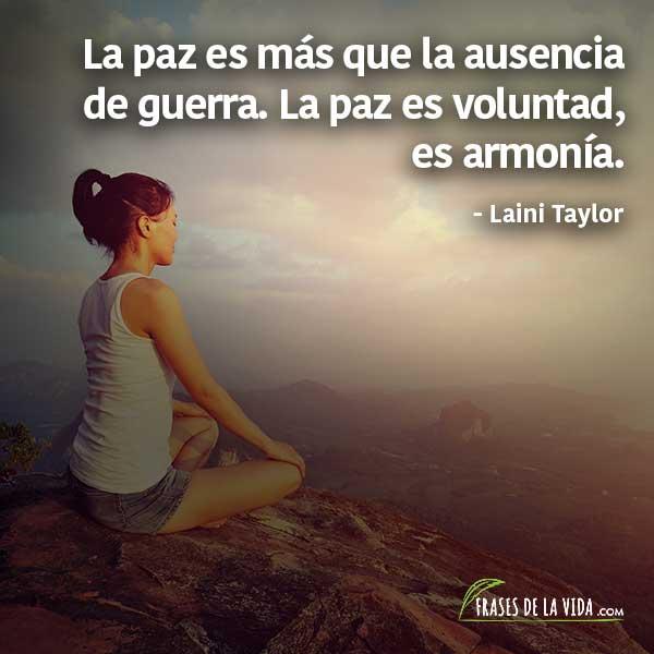 Frases de paz, frases de Laini Taylor