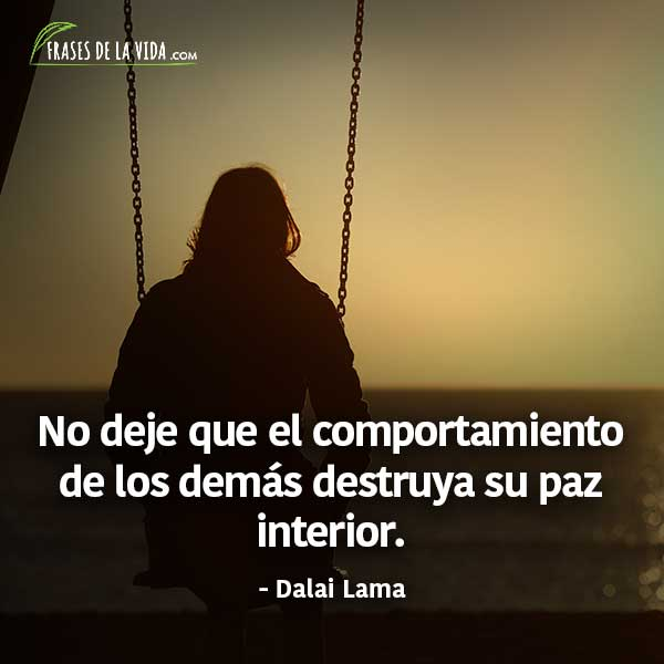 Frases De Paz Frases De Dalai Lama Frases De La Vida