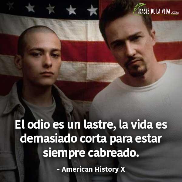 Frases de películas, frases de American History X