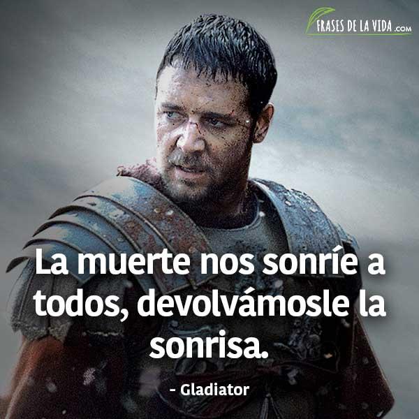 Frases de películas, frases de Gladiator