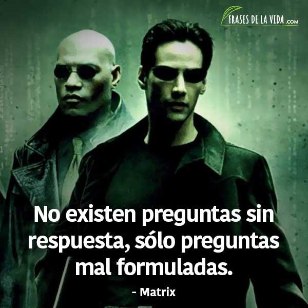 Frases de películas, frases de Matrix