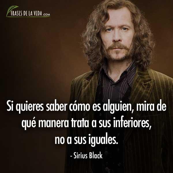 Frases de Harry Potter, frases de Sirius Black