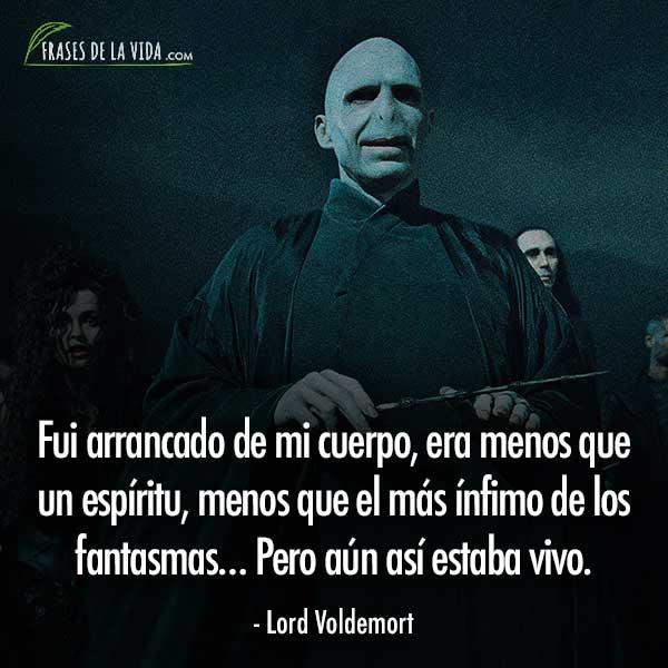 Frases de Harry Potter, frases de Lord Voldemort