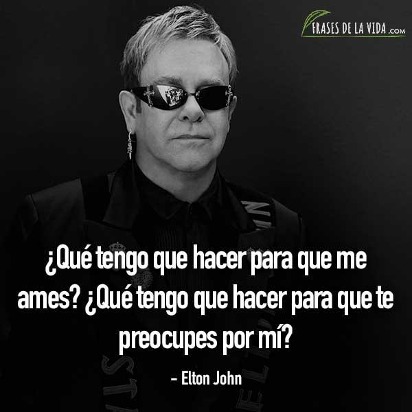 Frases de baladas, frases de Elton John