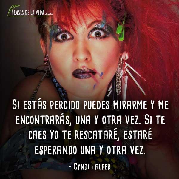 Frases de canciones de amor, frases de Cyndi Lauper