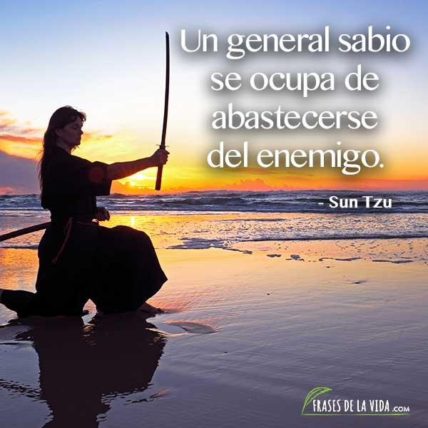 Frases de El arte de la guerra 9, Frases de Sun Tzu