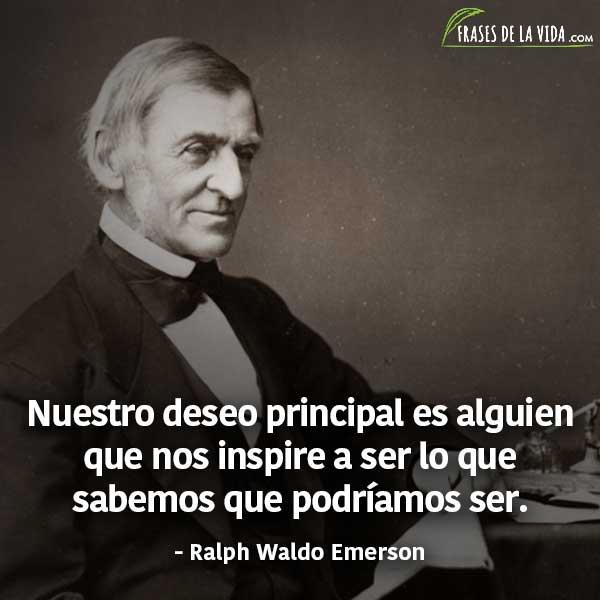 Frases de liderazgo, frases de Ralph Waldo Emerson