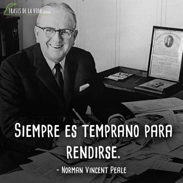 Frases motivadoras, frases de Norman Vincent Peale