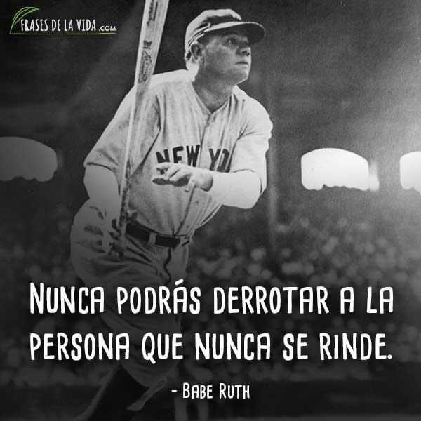 Frases motivadoras, frases de Babe Ruth