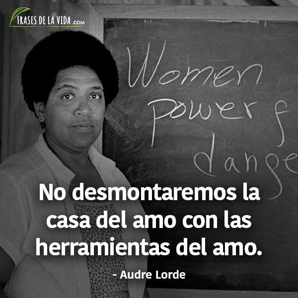 Frases para el día de la mujer, frases de Audre Lorde