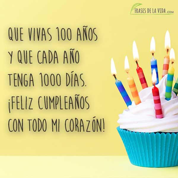 110 Frases Para Felicitar Cumpleaños Con Imágenes