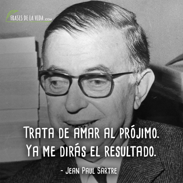 Frases de Jean Paul Sartre (1)