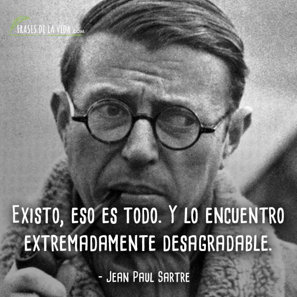 Frases de Jean Paul Sartre (4)