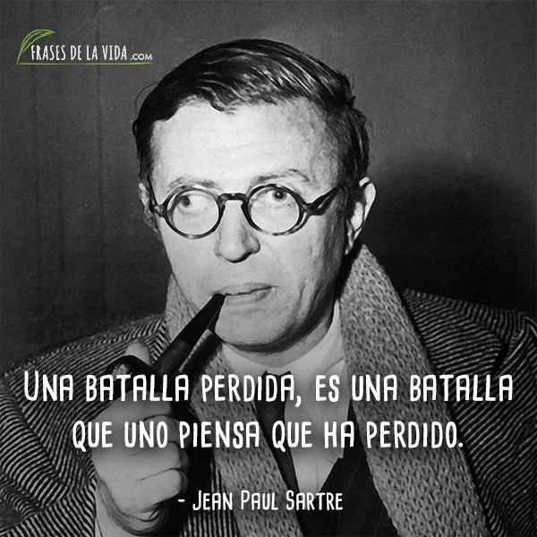 Frases de Jean Paul Sartre (5)