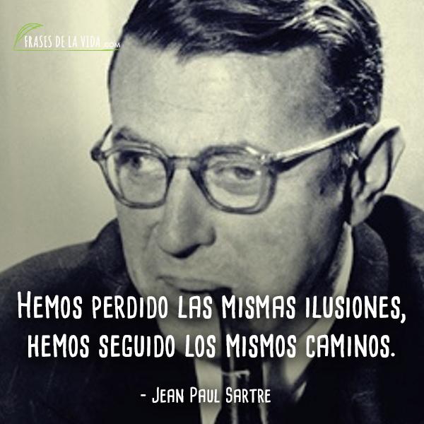 Frases de Jean Paul Sartre (8)