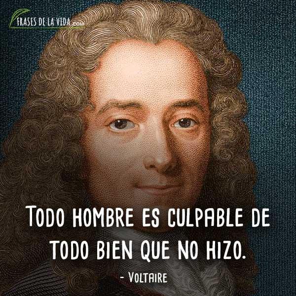 120 Frases De Voltaire Filósofo De La Revolución Francesa