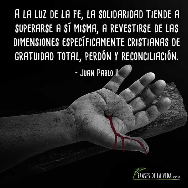 Frases de reconciliación, frases de Juan Pablo II