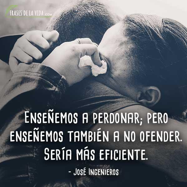 Frases de reconciliación, frases de José Ingenieros
