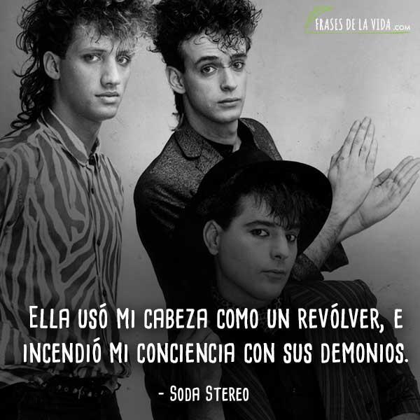 Frases de rock en español, frases de Soda Stereo