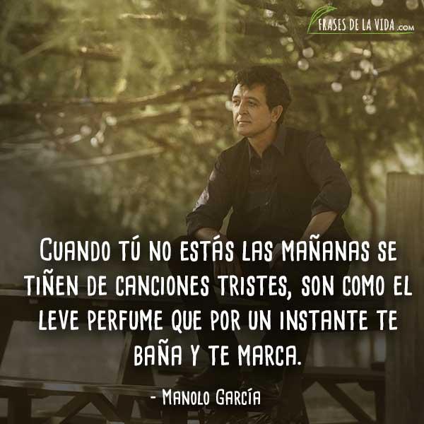 Frases de rock en español, frases de Manolo García