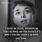 Frases De Audrey Hepburn Mi Vida No Es Teorías Y Fórmulas
