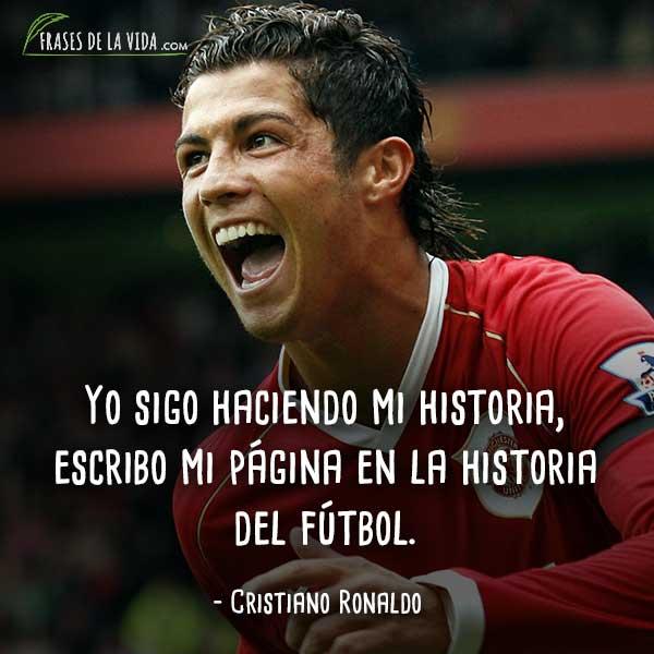 120 Frases De Cristiano Ronaldo El Futbolista De Oro Con Imagenes