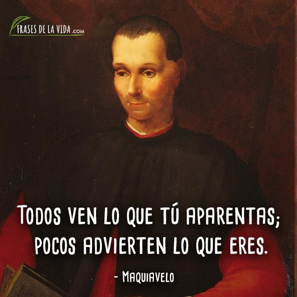 Frases de Maquiavelo (10)