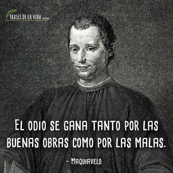 Frases de Maquiavelo (8)