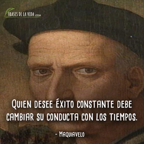 Frases de Maquiavelo (9)