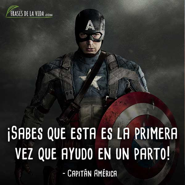 30 Frases Del Capitán América El Vengador Más Patriota Con