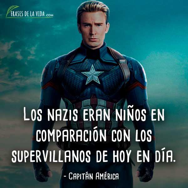 Frases De Capitán América 9 Frases De La Vida