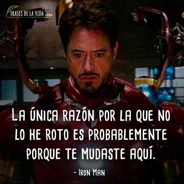 30 Frases De Iron Man El Superhéroe Más Controvertido Con