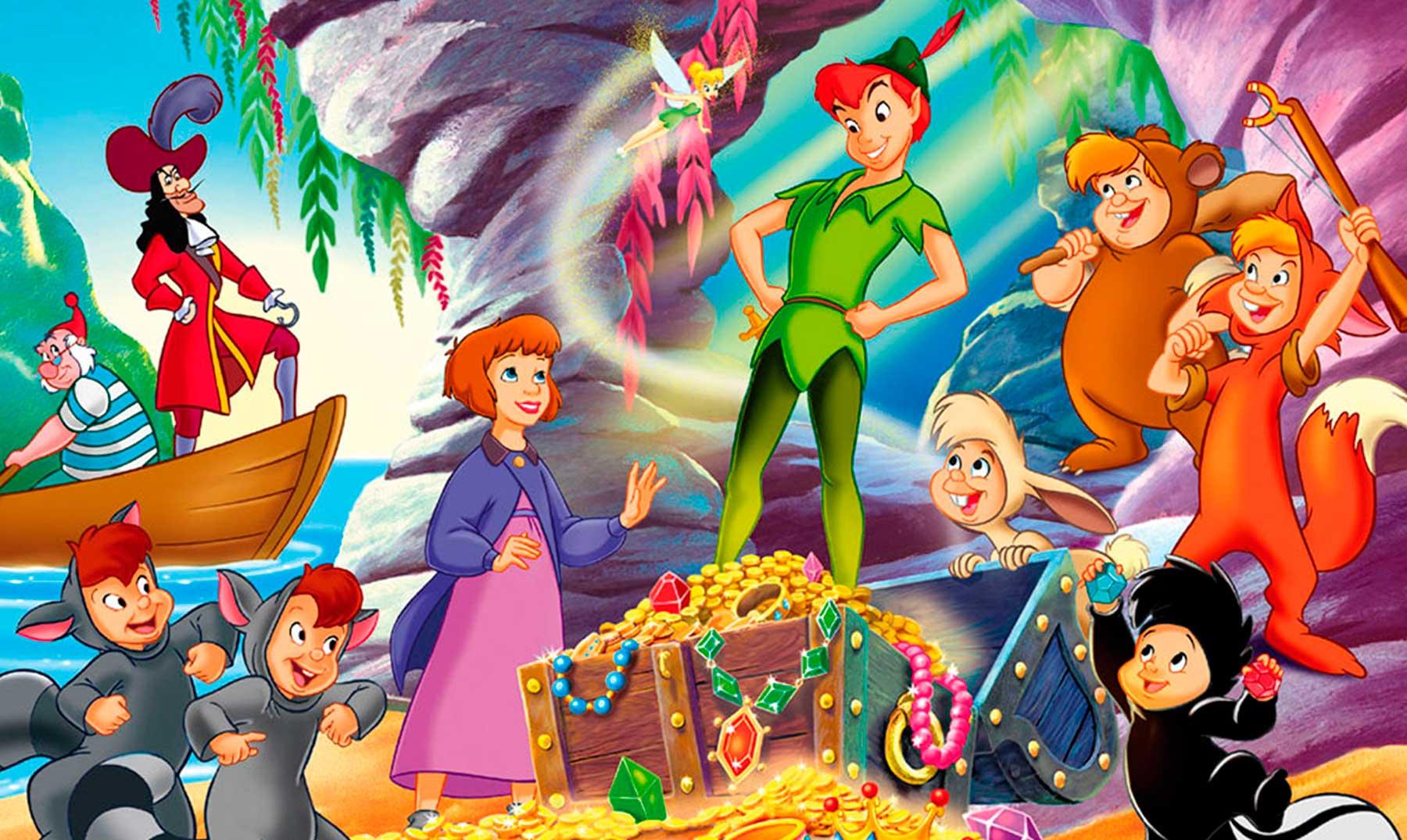 80 Frases De Peter Pan Para Volar Al País De Nunca Jamás