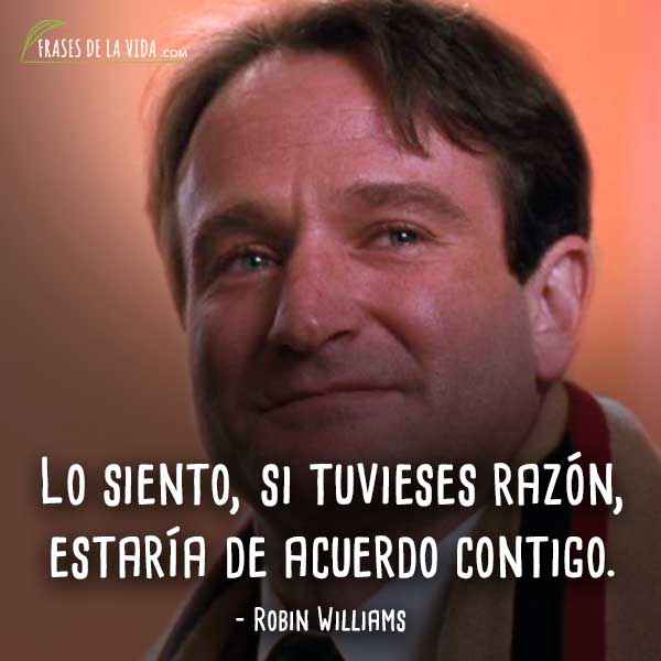 Frases De Robin Williams 1 Frases De La Vida