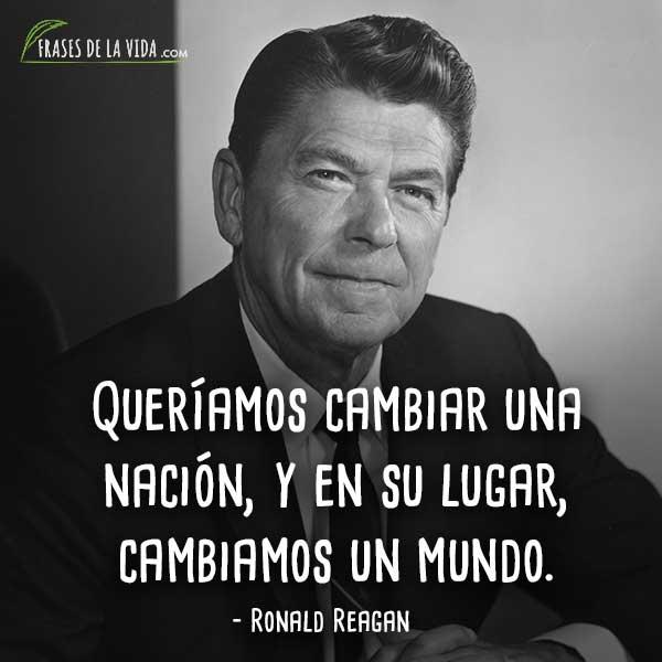 80 Frases De Ronald Reagan América Y La Guerra Fría Con