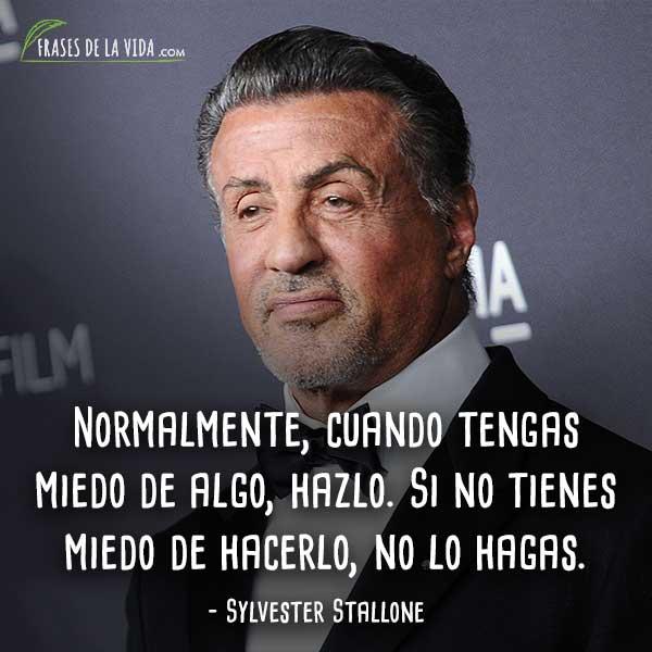 60 Frases De Sylvester Stallone Un Ejemplo De Superación