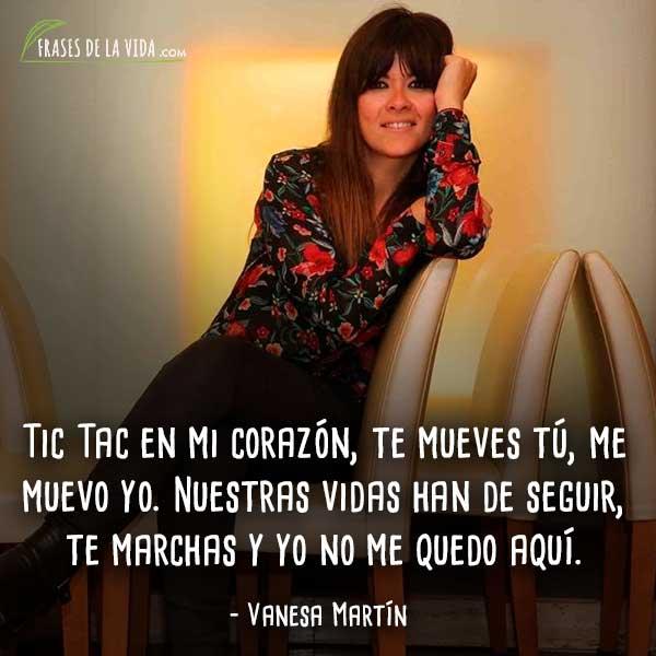 Frases De Vanesa Martín 10 Frases De La Vida