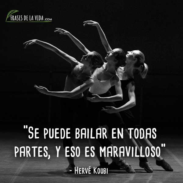 110 Frases De Baile Uno De Los Lenguajes Más Bellos Con
