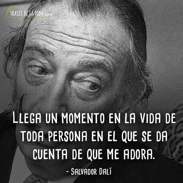 Frases De Salvador Dalí 5 Frases De La Vida