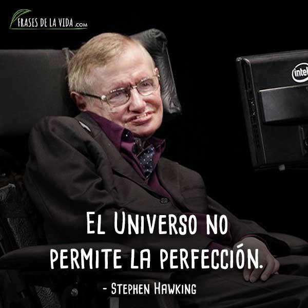 120 Frases De Stephen Hawking El Genio Del Universo Con