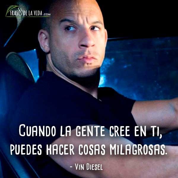 30 Frases De Vin Diesel El Actor Que Va A Todo Gas Con