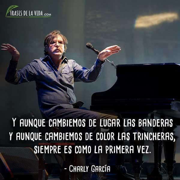 30 Frases De Charly Garcia Un Icono Del Rock Argentino Con Imagenes