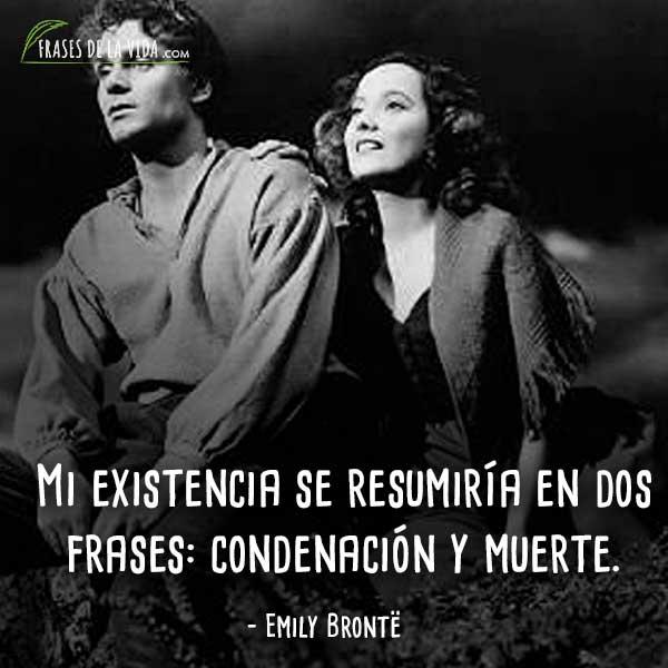 70 Frases De Emily Brontë Escritora Apasionada De Los